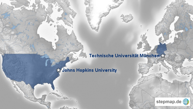 The two branches of the CAMP research group at Johns Hopkins University, Baltimore MD and Technische Universität München, Munich, Germany.